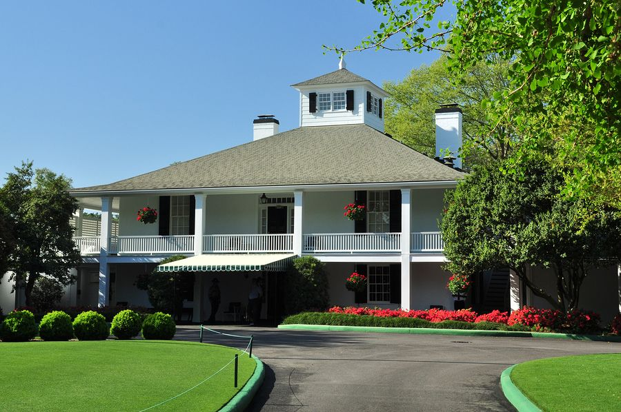 Masters Clubhouse - Golf tournament